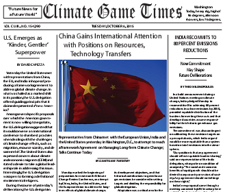 Climate Game Times - China Headline