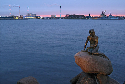 Mermaid & power plants