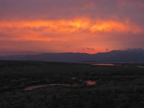 Sunrise - Las Vegas Bay, Lake Mead