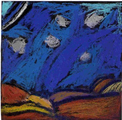 Untitled, Cade Fiddaman, Pastel