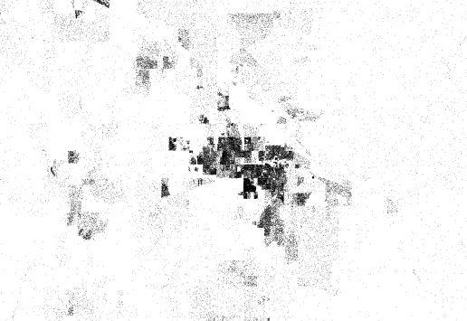 Bozeman Census Dotmap - MetaSD on